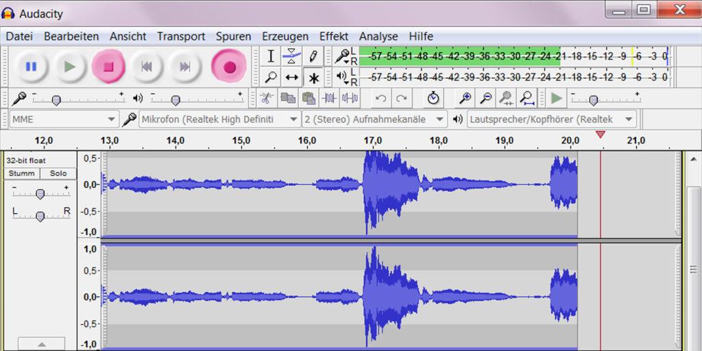 Vinyls digitalisieren mit Audacity