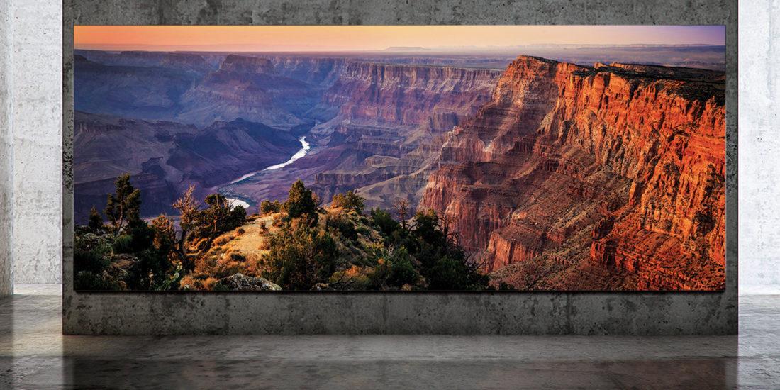 Samsung: 292 Zoll-Wandfernseher mit 8K-Auflösung vorgestellt