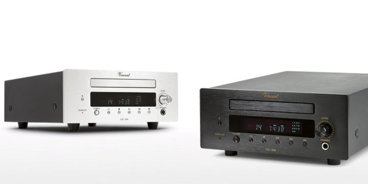 Vincent CD-200: Neuer Röhren-CD-Player veröffentlicht
