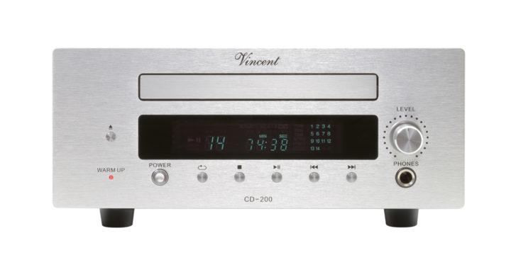 Vorschaubild für Der Hybrid-Player CD-200 von Vincent