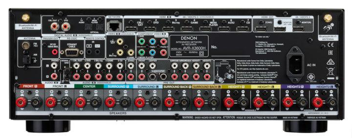 Vorschaubild für Der AV-Receiver Denon AVR-X3600H