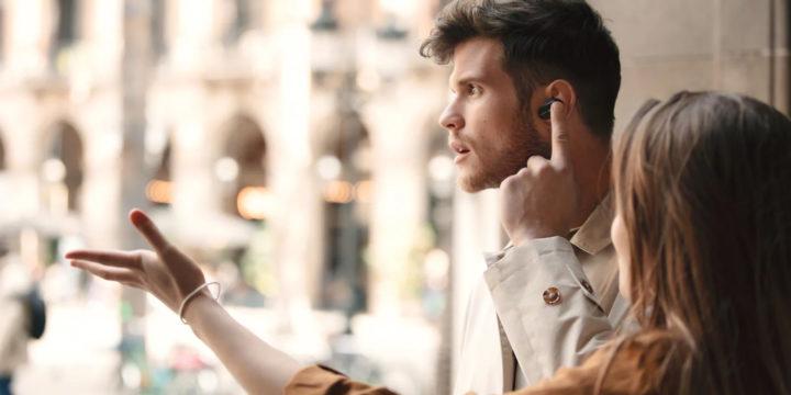 Vorschaubild für Der True Wireless-Kopfhörer WF-1000XM3 von Sony