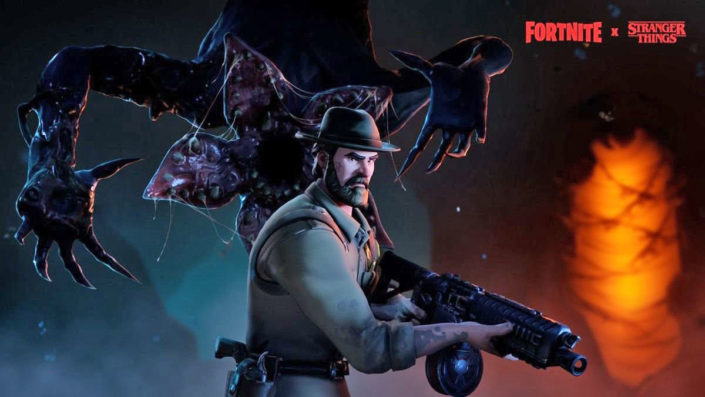 Stranger Things 3 - The Game Skins für Fortnite