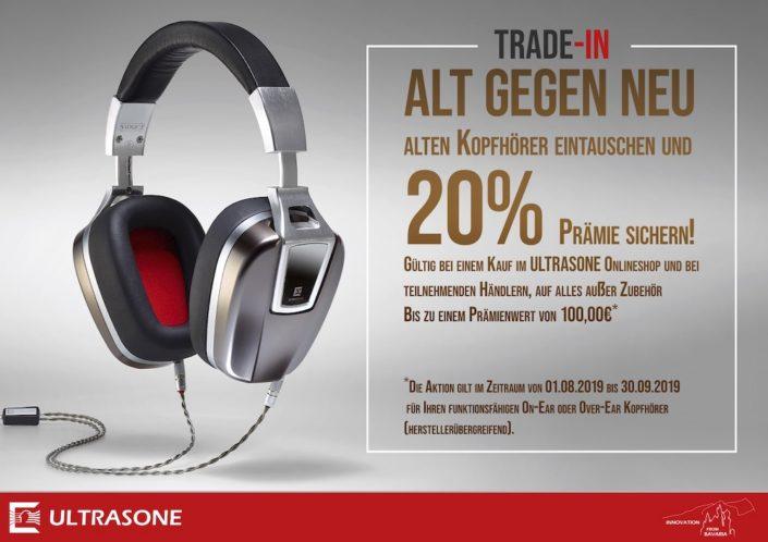 Ultrasone Trade-In-Aktion