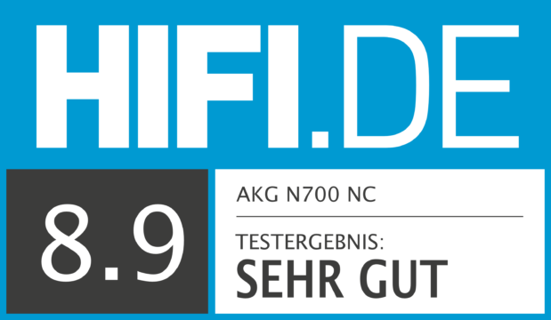 HIFI.DE Testsiegel für AKG N700 NC