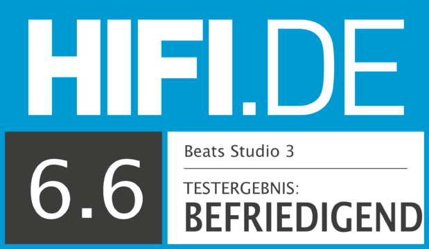 HIFI.DE Testsiegel für Beats Studio 3 Wireless