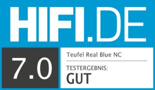 HIFI.DE Testsiegel für Teufel Real Blue NC im Test: Erster ANC-Kopfhörer aus dem Hause Teufel