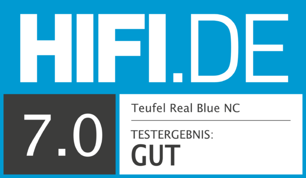 HIFI.DE Testsiegel für Teufel Real Blue NC
