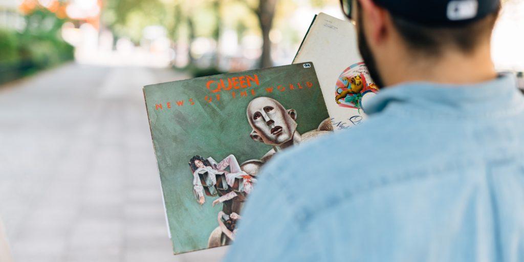 Gebrauchte Schallplatten kaufen