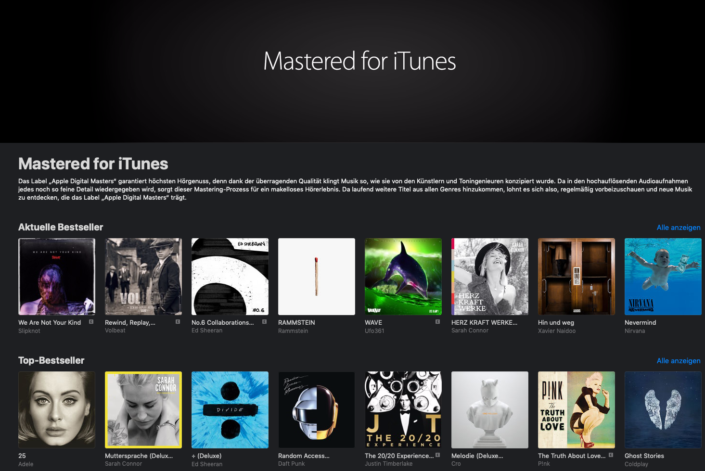 Apple Digital Masters / Mastered for iTunes