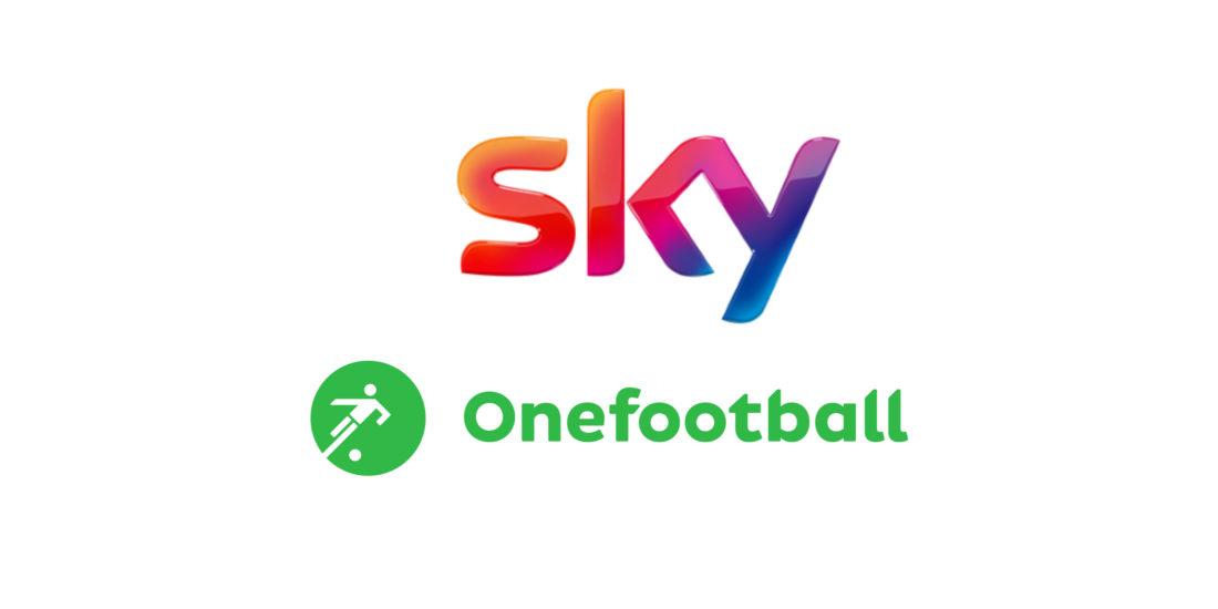 Neue Kooperation zwischen Sky und Onefootball