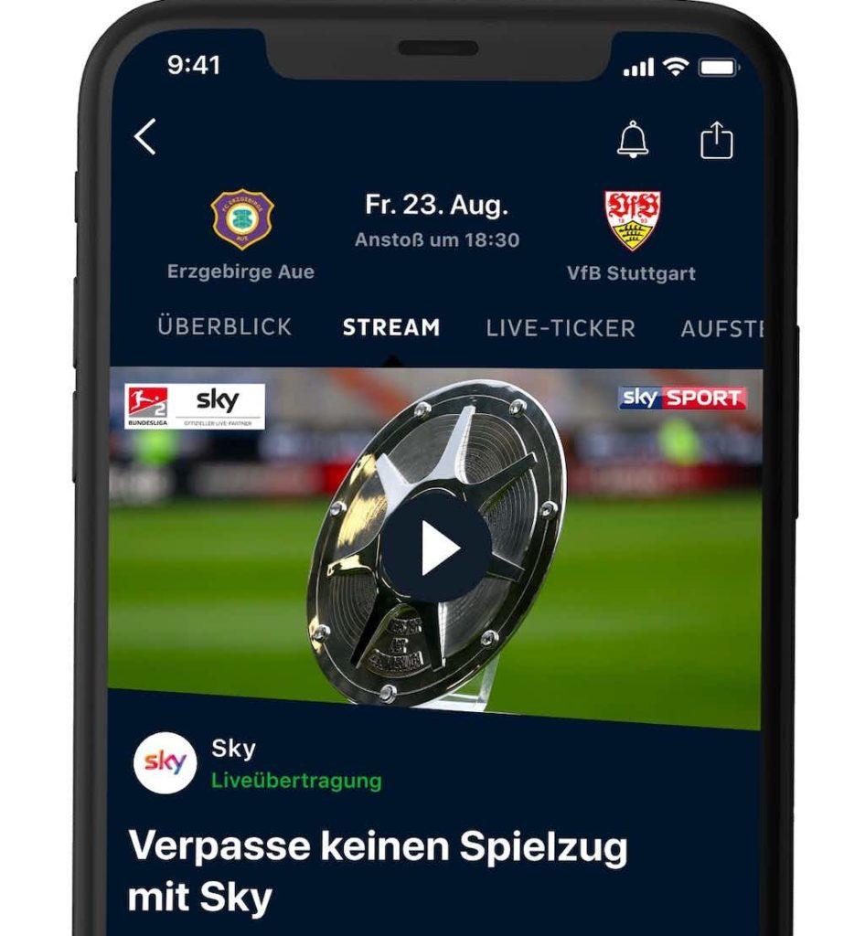 Die 2. Bundesliga live bei Onefootball