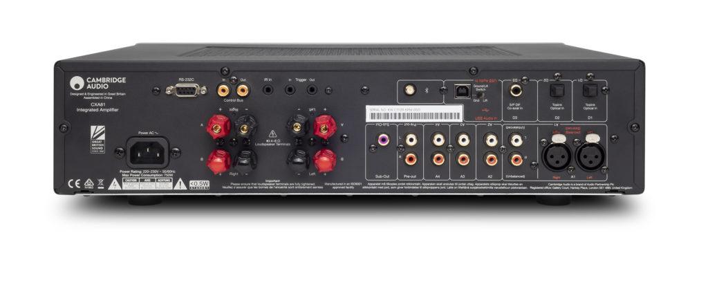 Cambridge Audio CXA81 Anschlüsse