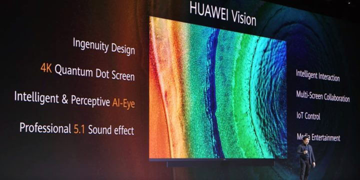 Honor Vision TV: Neue Details zum ersten 4K-Fernseher von Huawei
