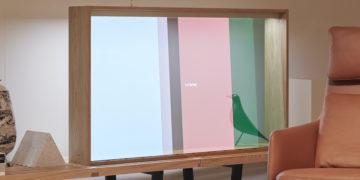 Panasonic OLED - Transparanter Fernseher
