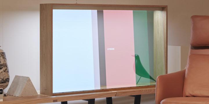 Design-Studie auf der IFA: Transparenter Fernseher von Panasonic