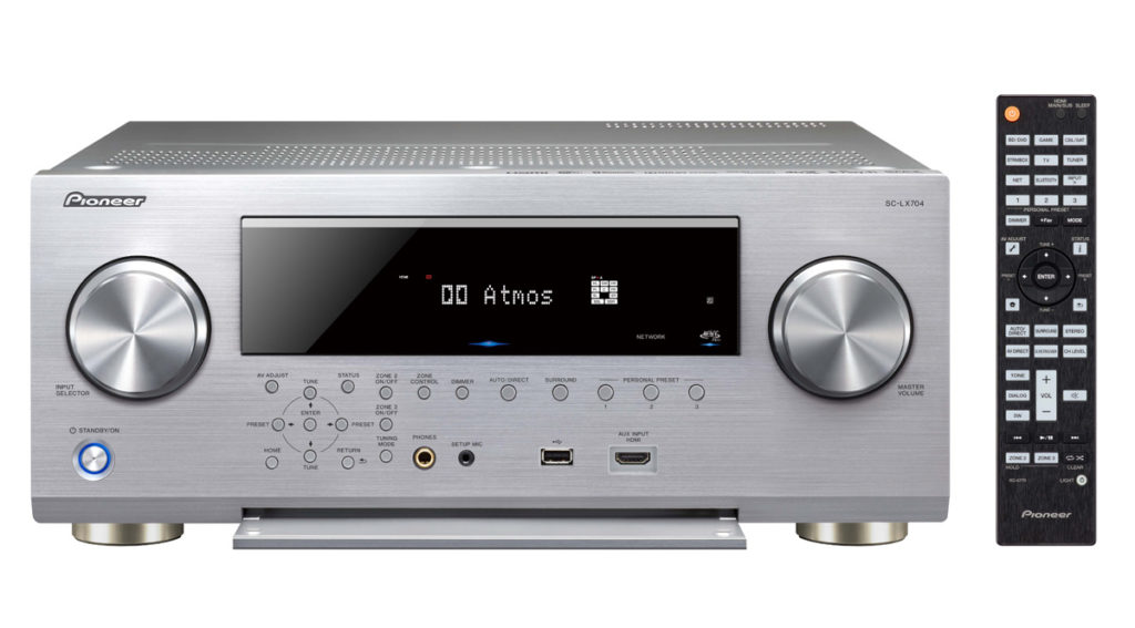 Pioneer SC-LX704 Front