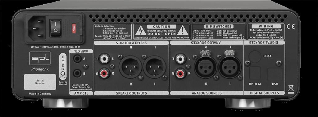 SPL DAC768xs im Phonitor x