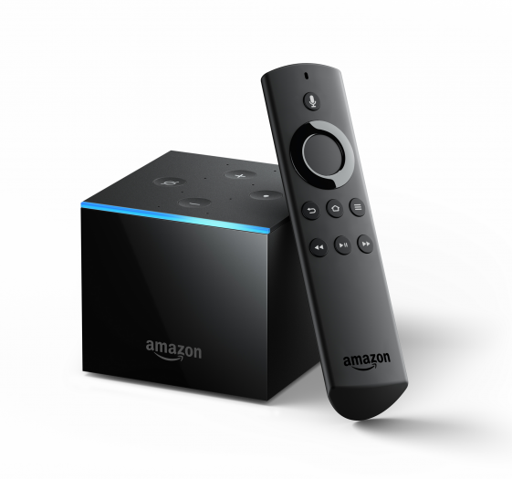 Amazon Fire TV Cube mit Fernbedienung