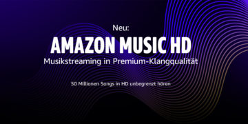 Amazon Music HD: Streaming-Dienst jetzt mit Hi-Res-Angebot