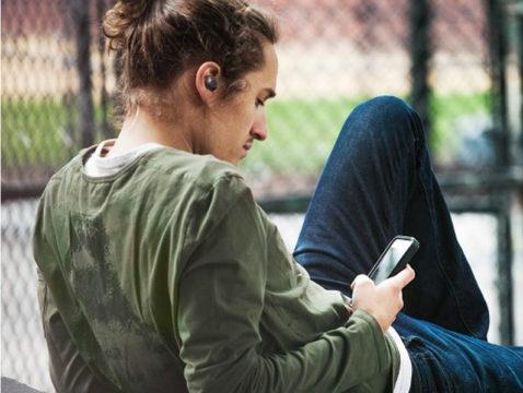 Vorschaubild für Die True-Wireless-Kopfhörer ATH-CKS5TW