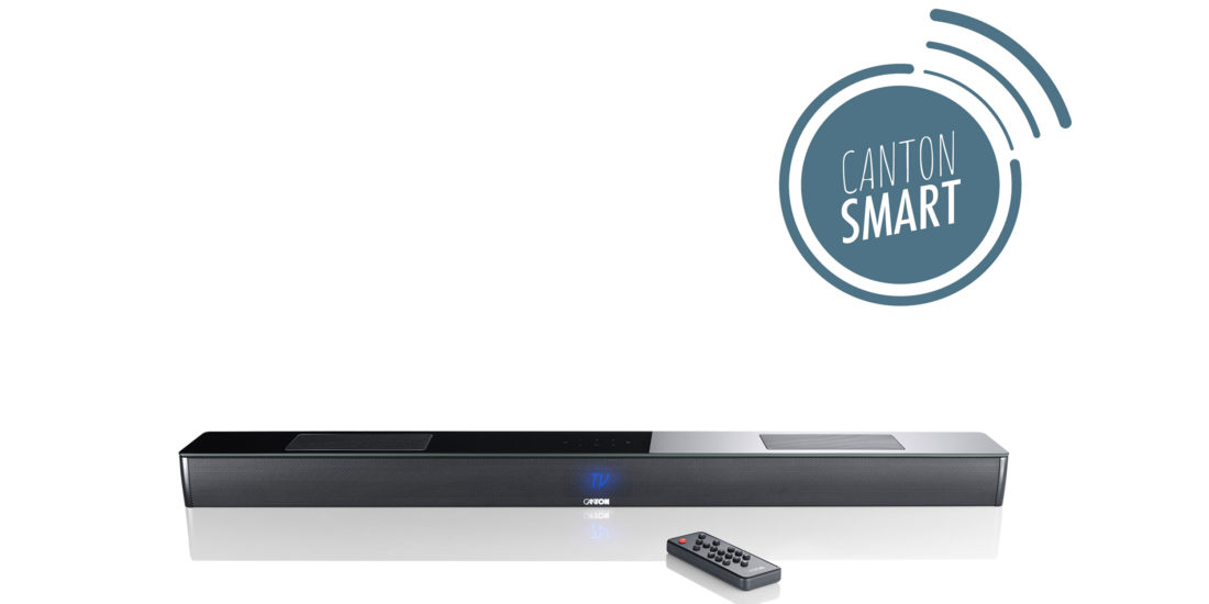 Neue Canton Smart Soundbar mit Dolby Atmos