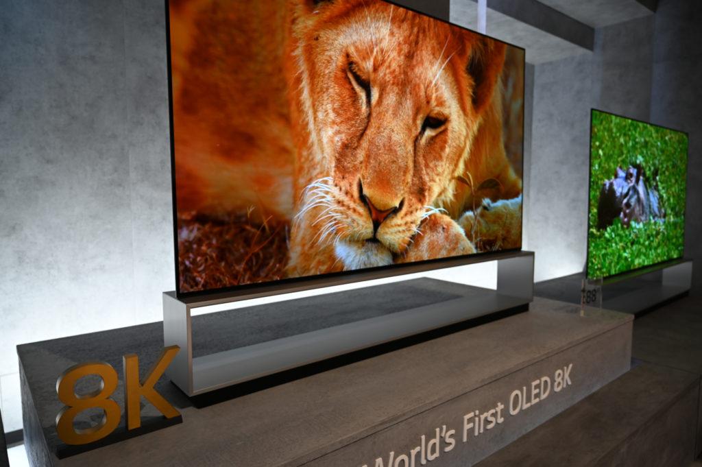 8K-OLED-Fernseher