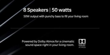 OnePlus TV Dolby Atmos