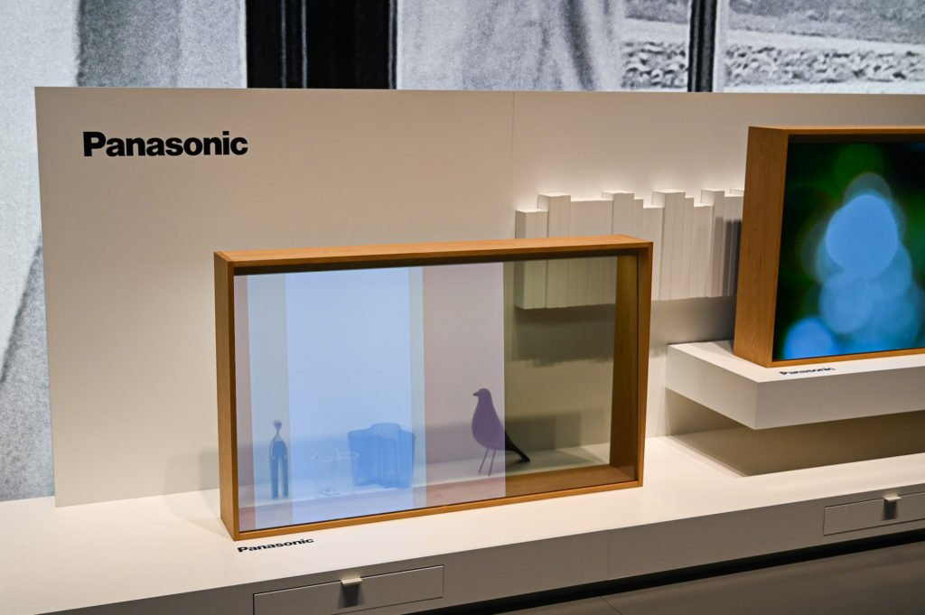 Transparenter OLED-TV von Panasonic