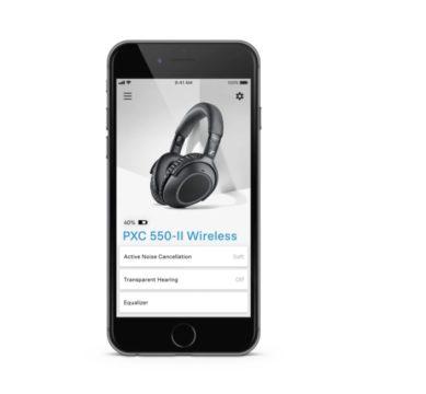 Vorschaubild für Der Sennheiser PXC 550-II Wireless