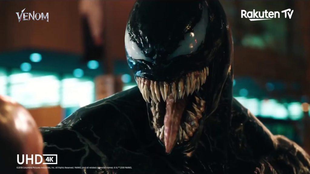 Venom als IMAX Enhanced-Inhalt bei Rakuten TV