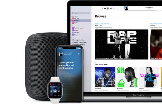 Vorschaubild für Apple-Dienste und Produkte für HiFi-Enthusiasten