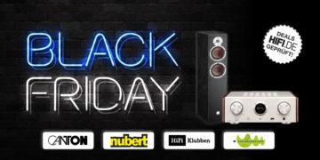 Black Friday 2020: Die besten HiFi-Angebote
