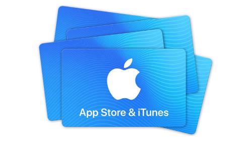 Black Friday Angebote von Apple - Geschenkkarte