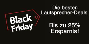 Black Friday Lautsprecher Deals: Bis zu 25% sparen