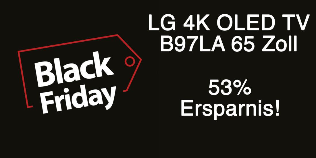 Black Friday OLED-Deal: LG B9 in 65 Zoll mit 53% Rabatt!