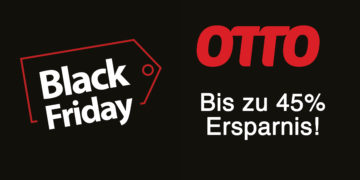 Black Friday Angebote bei Otto.de – bis zu 45% sparen