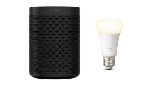 Black Friday Sonos One + Philips Hue