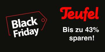 Teufel Black Friday 2019 Deals –Bis zu 43 Prozent sparen