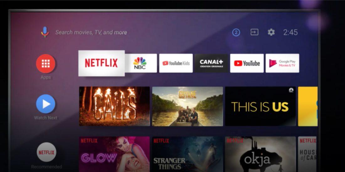 Google veröffentlicht Android TV 10