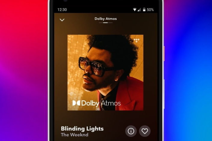 Tidal HiFi mit Dolby Atmos Music