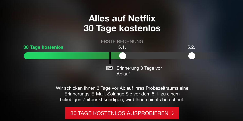 Netflix schafft kostenloses 20 Tage Abo in Großbritannien ab   HIFI.DE