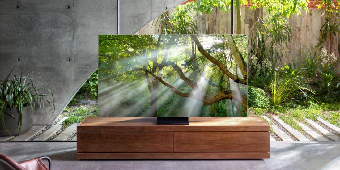 CES 2020: Samsung kündigt rahmenlosen 8K-TV an