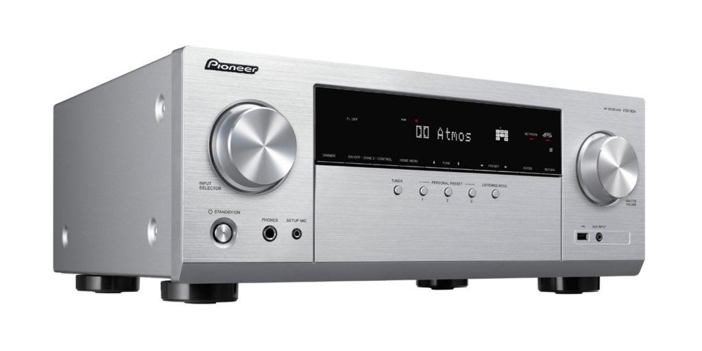 Pioneer VSX-934 Silber von links