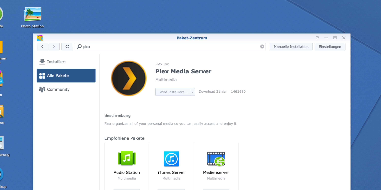 Plex Server Synology