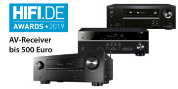 HIFI.DE Awards: Die besten AV-Receiver bis 500 Euro