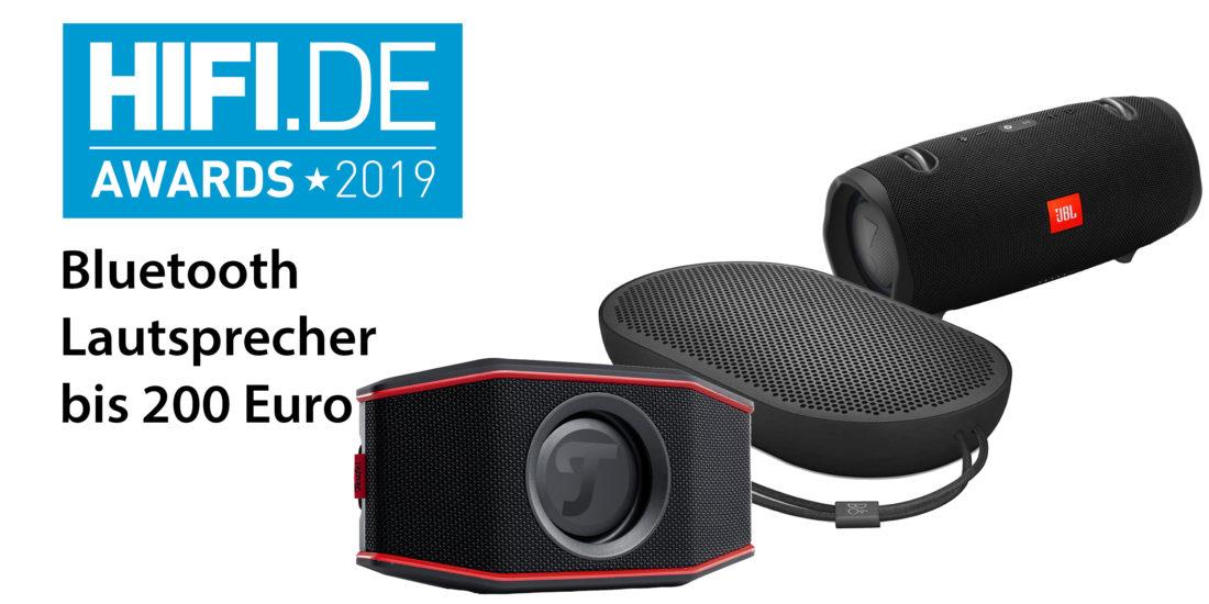 HIFI.DE Awards: Die besten Bluetooth Lautsprecher zwischen 100 und 200 Euro