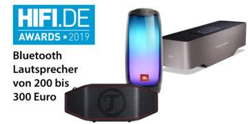 HIFI.DE Awards: Die besten Bluetooth Lautsprecher von 200 bis 300 Euro