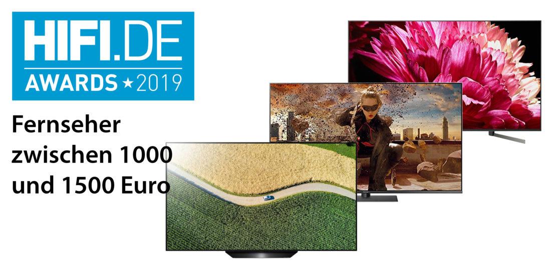 HIFI.DE-Awards: Die besten Fernseher bis 1500€