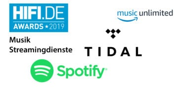 HIFI.DE Awards: Die besten Musik Streamingdienste